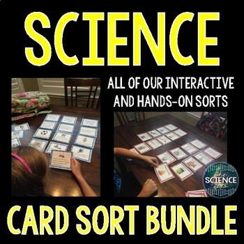 Science Card Sort MEGA Bundle