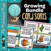 SCIENCE CARD SORTS - GROWING BUNDLE!