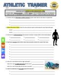Science Career Webquest - Athletic Trainer