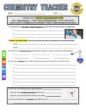 Science Career Webquest - Chemistry Teacher
