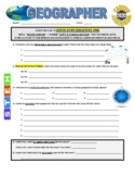 Science Career Webquest - Geographer