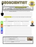 Science Career Webquest - Geoscientist
