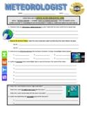 Science Career Webquest - Meteorologist