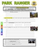 Science Career Webquest - Park Ranger