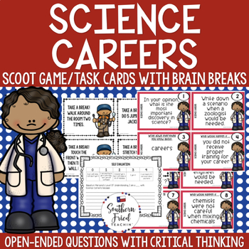 Science Careers Scoot Game/Task Cards