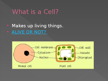 Science Cells Power Point