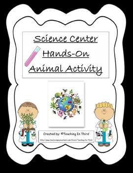 Science Center Activity-Focus on Animals