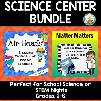 Science Center Bundle:  Family Science Night Fun!