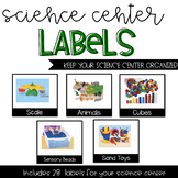 Science Center Labels