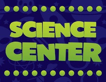 Science Center Sign