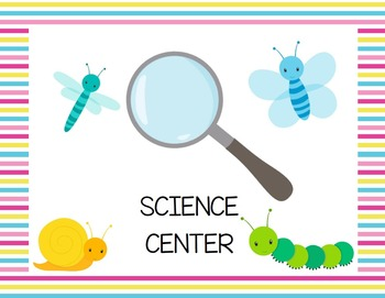 Science Center Sign {American Spelling}