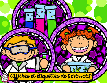 Science Center Signs & Labels in French