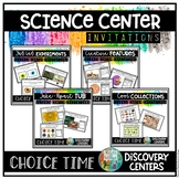 Science Center, Station or Tub Activities for preschool or