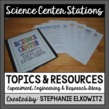 Science Center Experiment, Engineering and Research Ideas