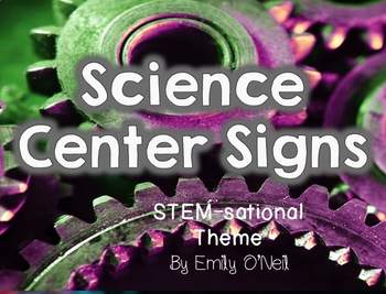 Science Centers (STEM-sational Theme)