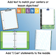Science Centers: Template for use with Google Apps