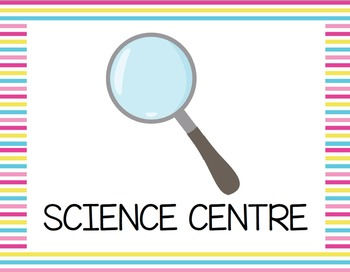 Science Centre Signs {British Spelling}