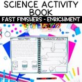Science Challenge Activity Book for Fast Finishers | Sub Plans