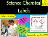 Science Chemical Labels