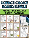 Science Choice Boards Bundle (Editable)