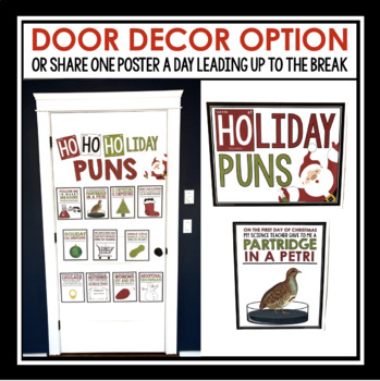 Science Christmas/Winter Season Posters - Classroom Decor