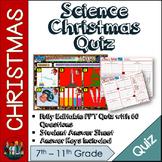 Science Christmas Quiz 2019 #DecemberDeals