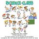 Science Class Cartoon Clipart Vol. 1 - Science Clipart for ALL Grades