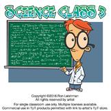 Science Class Cartoon Clipart Vol. 3