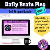Science Class Starters-Daily Brain Flex