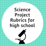 Science Class presentation rubrics, assignment, and poster