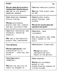 Science Classification: Vocabulary Activity  2 Elementary Grade 5