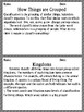 Science Classification of Living Things Morning Work/Activities/Prompts