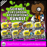 Science Classroom Decor BUNDLE (Science Classroom Decorati