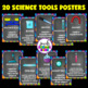 Science Classroom Decorations (Scientific Tools, Posters a