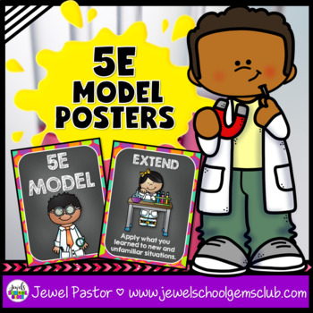 Science Classroom Decorations (5E Model Posters)