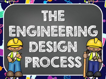 Science Classroom Decorations (Engineering Design Process Posters)