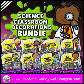 Science Classroom Decor BUNDLE (STEM Classroom Decor BUNDLE)