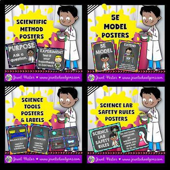 Science Classroom Decor BUNDLE