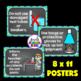 Science Classroom Decorations (Lab Safety Rules Posters)