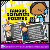 Science Classroom Decorations (Scientists Posters)