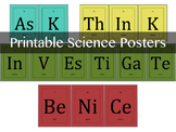 Science Classroom Element Posters