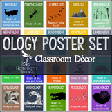Science Classroom Posters - OLOGY Poster Set