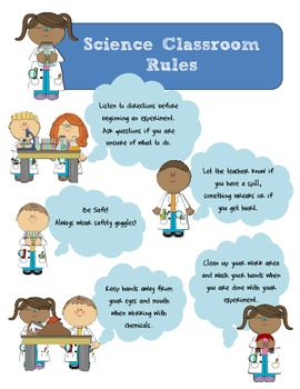 Science Classroom Rules