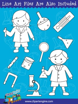 Science Clip Art Collection