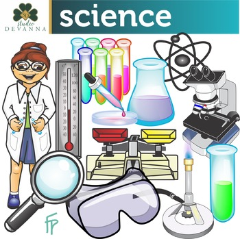 Science Supplies Clip Art