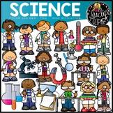 Science Clip Art Set {Educlips Clipart}