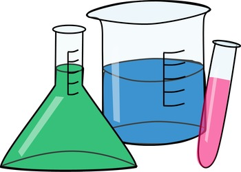 Science Clip Art Set - 45 png images for commercial or personal use