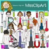 Science Clip Art Set (Color and B&W) {MissClipArt}