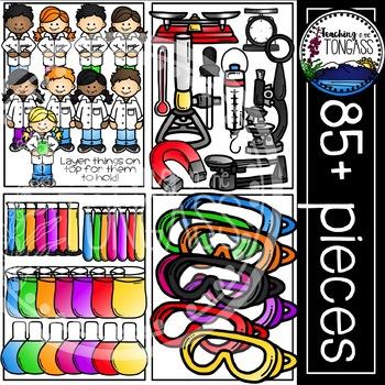 Science Clipart MEGA Bundle
