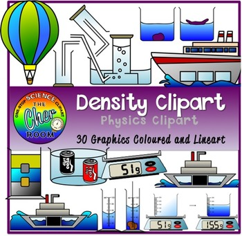 Density Clipart (Mass, Volume)